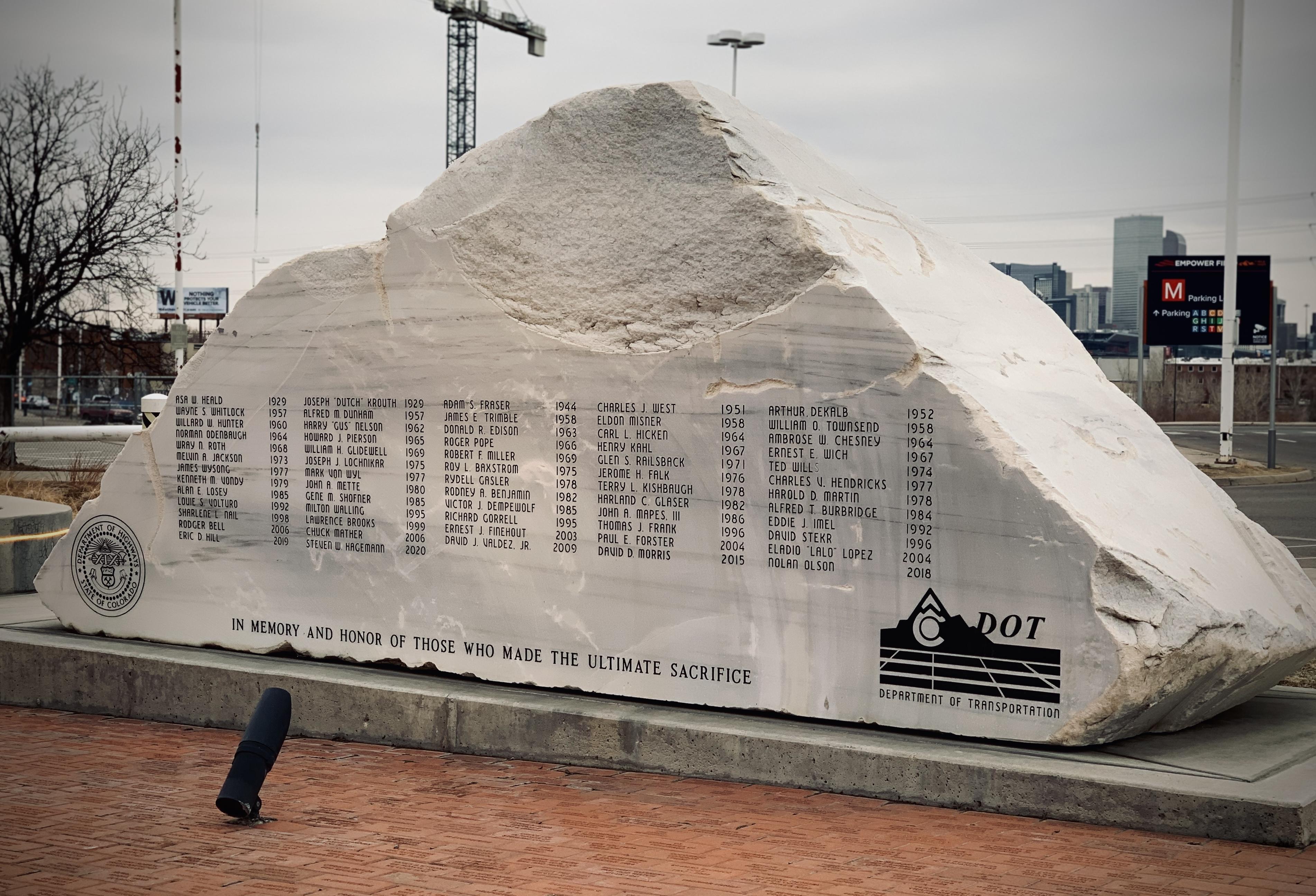 CDOT Memorial