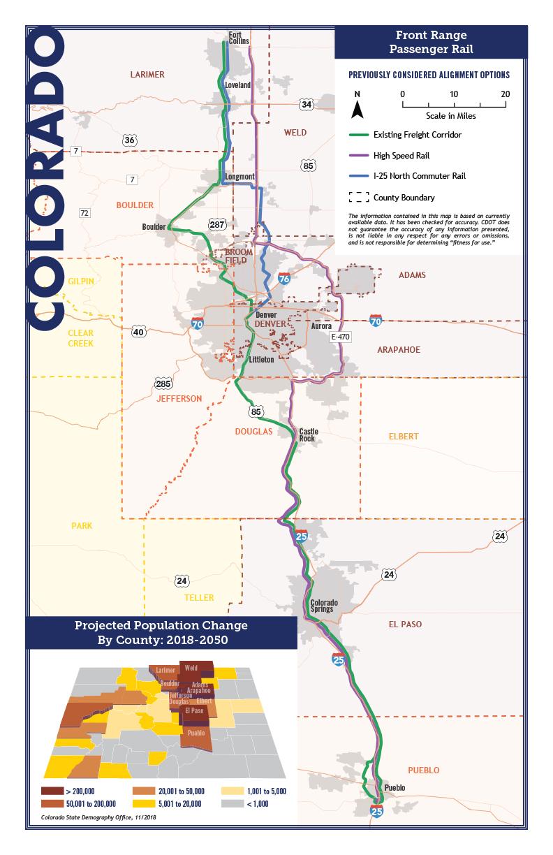 Passenger Rail Map
