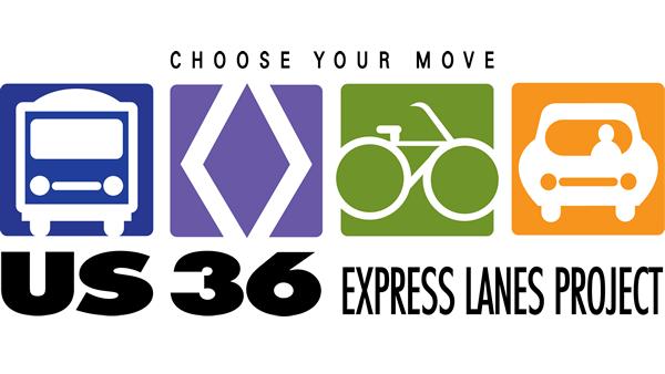 US 36 Managed Lanes Logo detail image