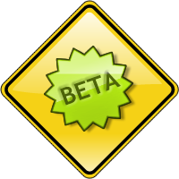 CDOT Site Beta Sign