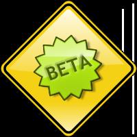 CDOT Site Beta Sign detail image