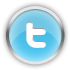 Chrome Twitter Icon