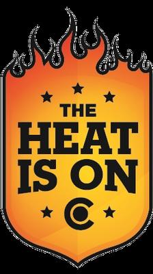 Heat is On Logo 2013