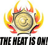 Heat is On Logo detail image