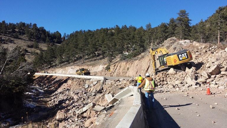 US 36 Construction January 2014
