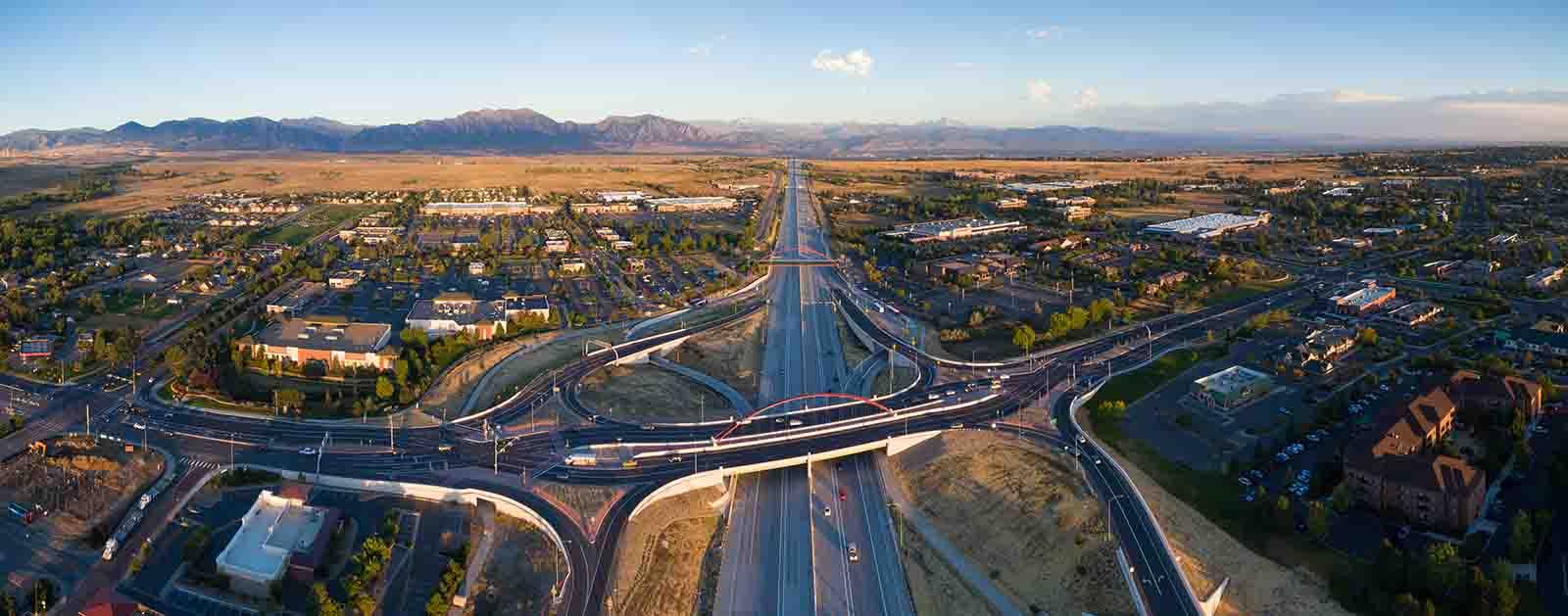 Highway 36 Aerial detail image
