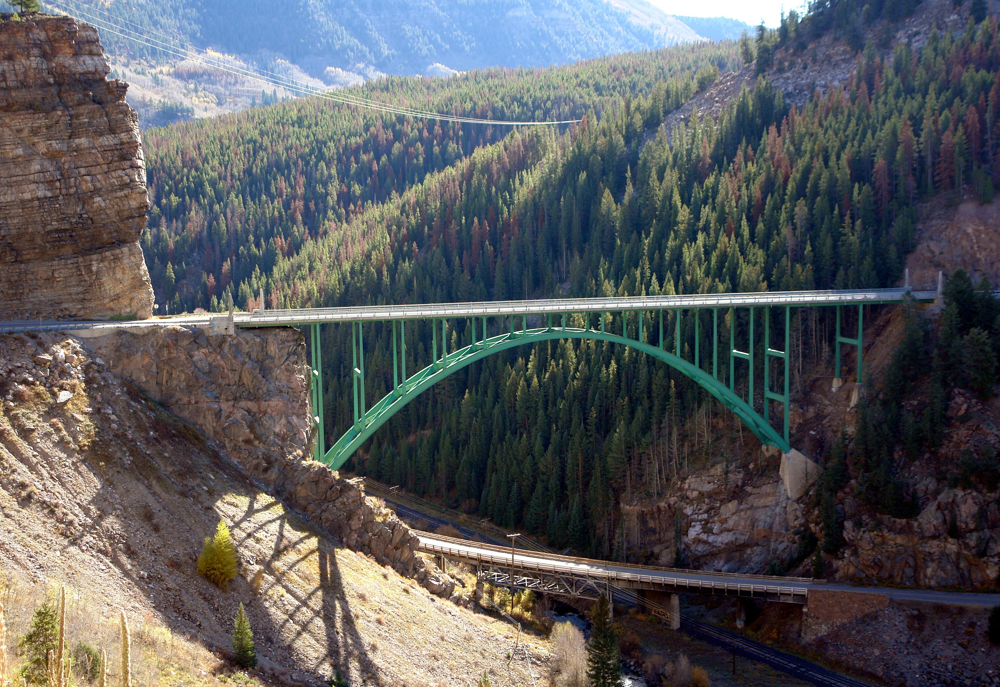 Red Cliff Bridge Colorado detail image