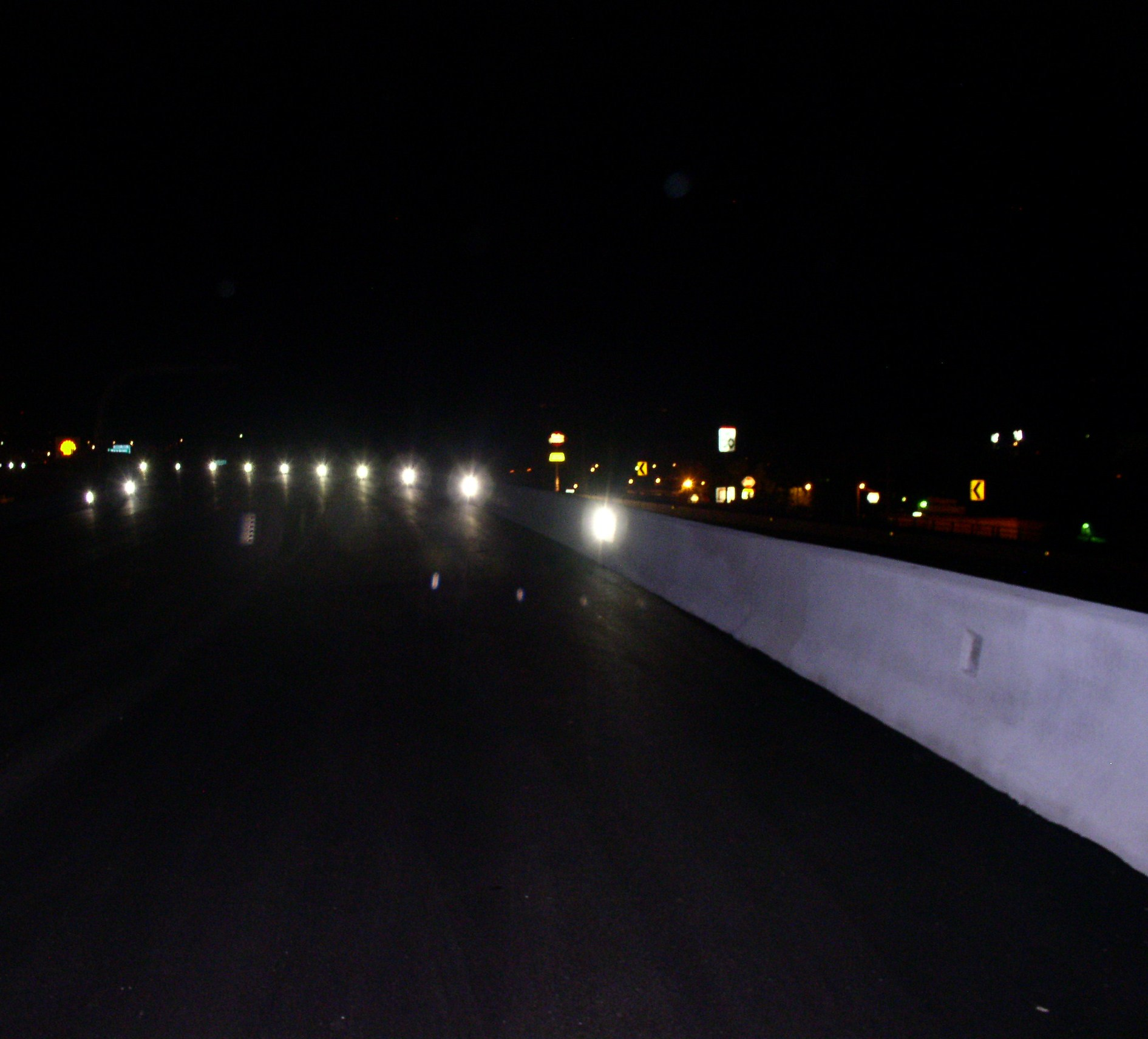 Highway - night research photo