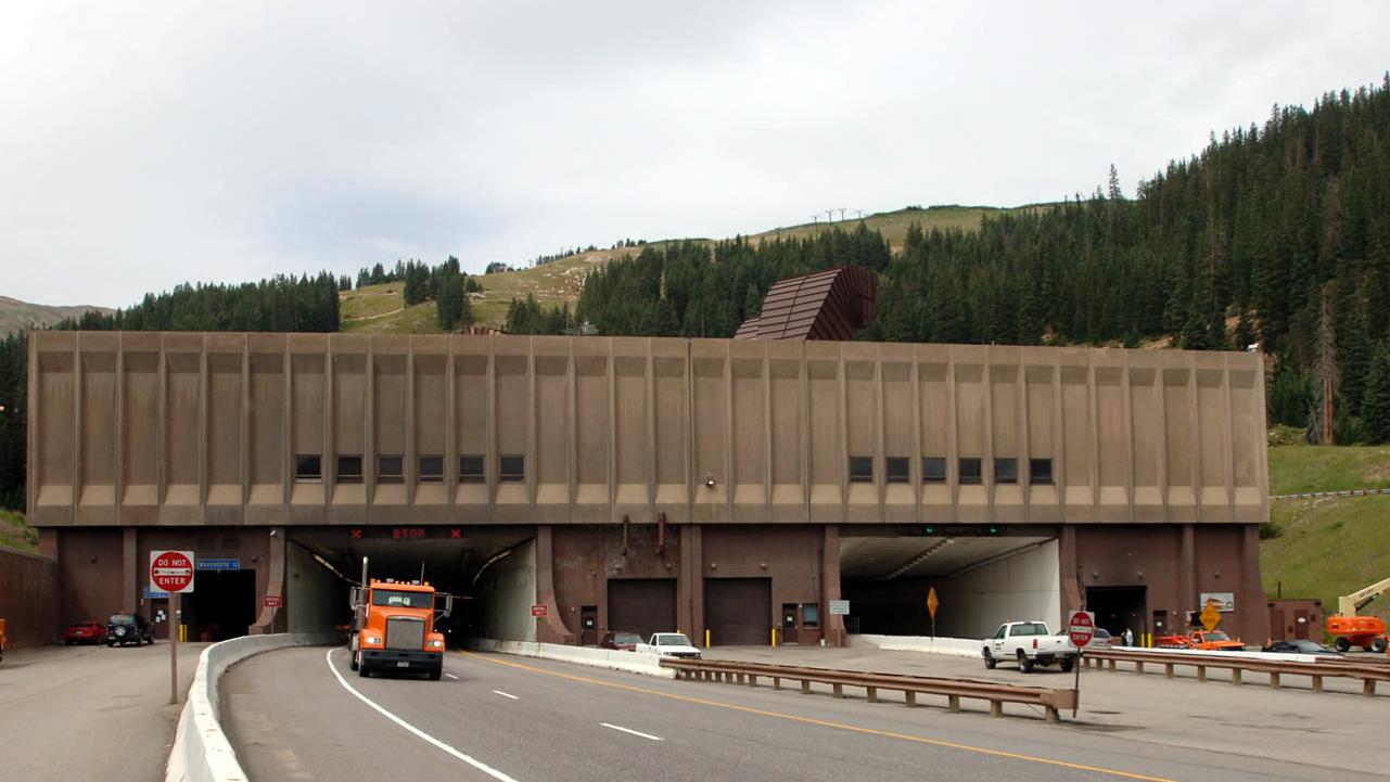 Eisenhower Tunnel detail image