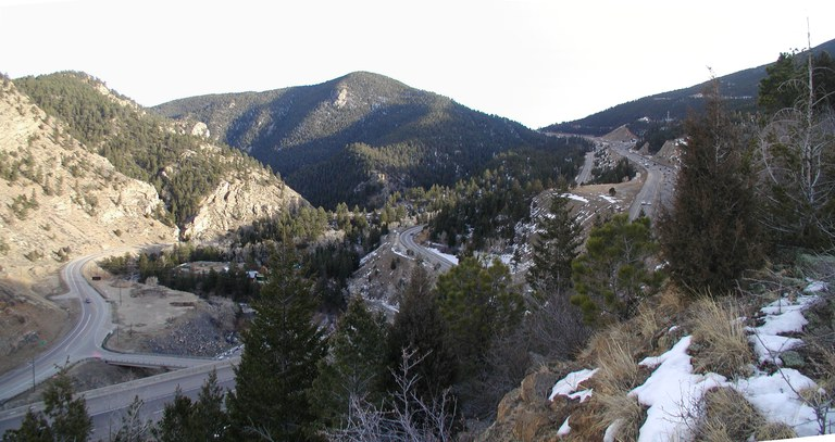 Floyd Hill Pano