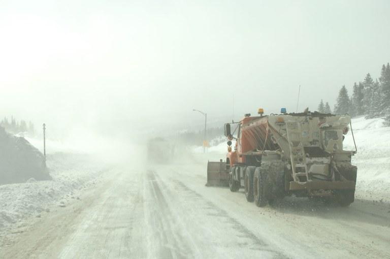Highway Plowing
