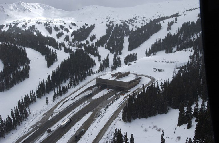 I-70 West Eisenhower Tunnel