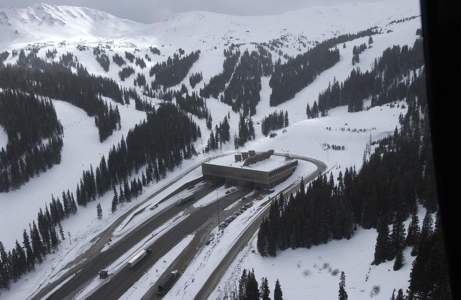 I-70 West Eisenhower Tunnel detail image