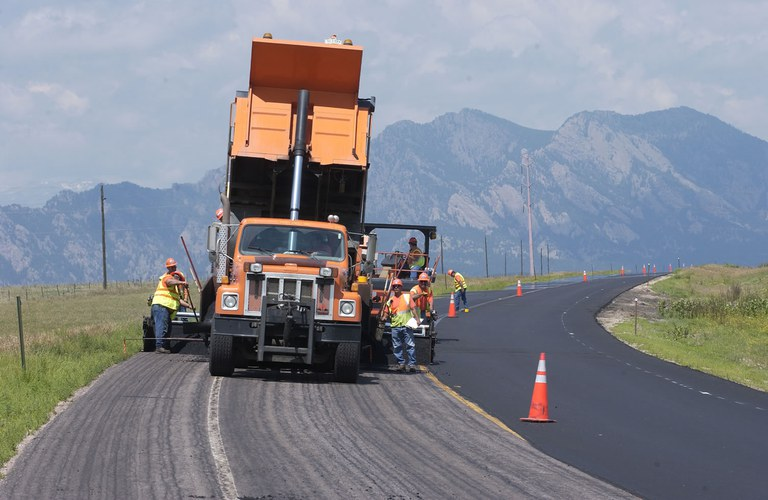 Highway Paving