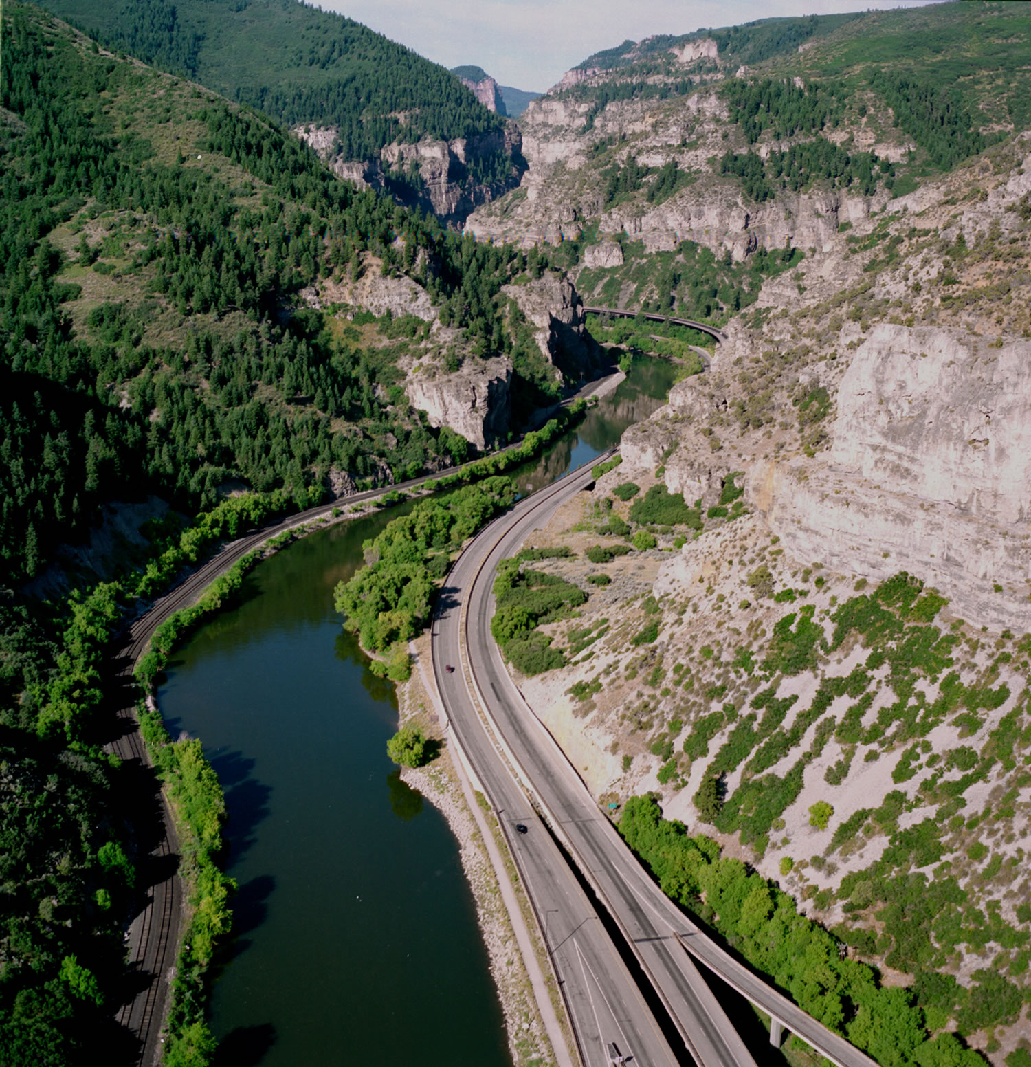 Glenwood Canyon detail image