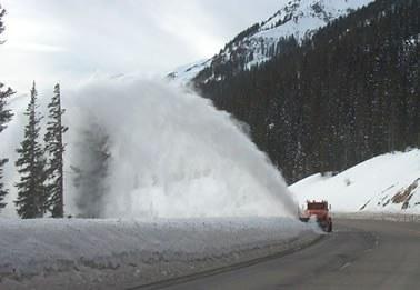 Wolf Creek Pass Snow Blower