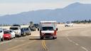 Ambulance on Highway thumbnail image