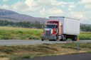 Truck on Highway thumbnail image