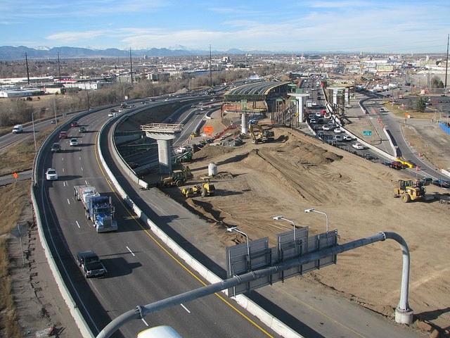I-25 Santa Fe Flyover