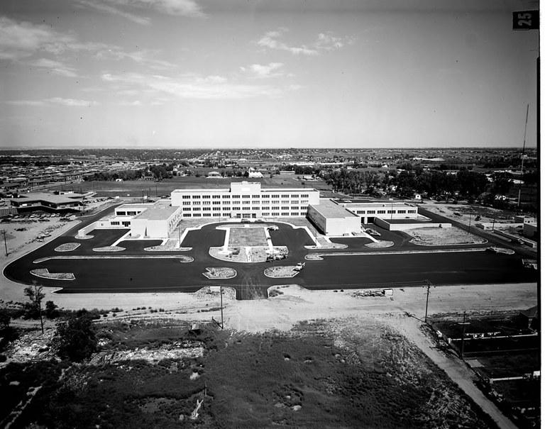 CDOT HQ (black & white)