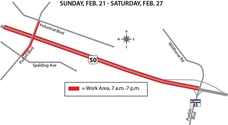 US 50 Purcell Map February 21