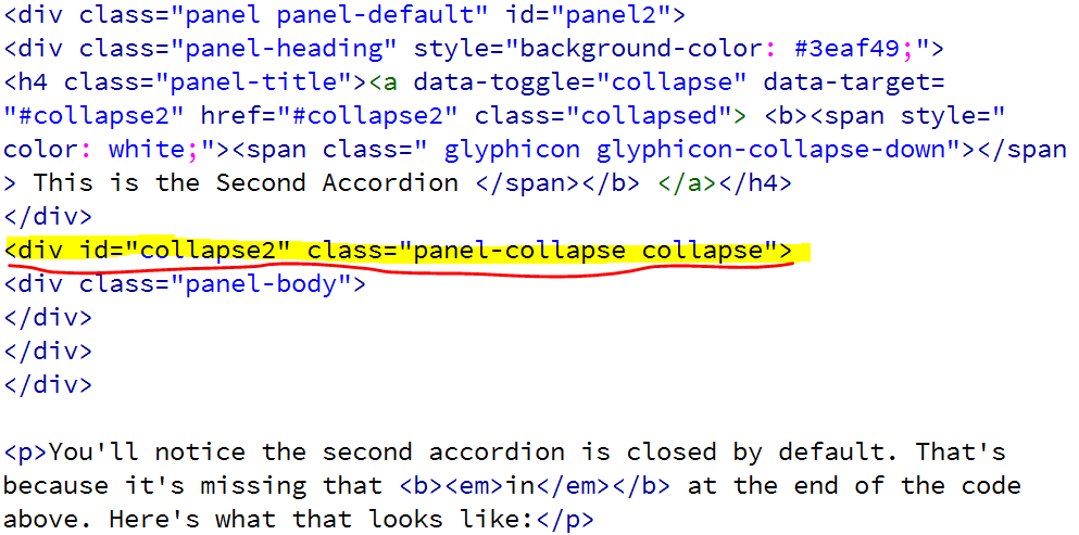 accordion-closed-code.PNG detail image