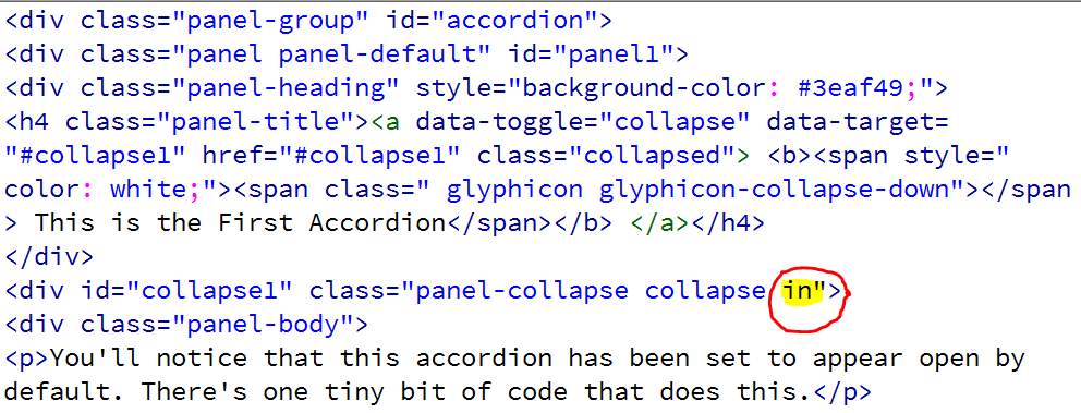accordion-open-code.PNG detail image