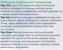 writing for engineering professionals thumbnail image