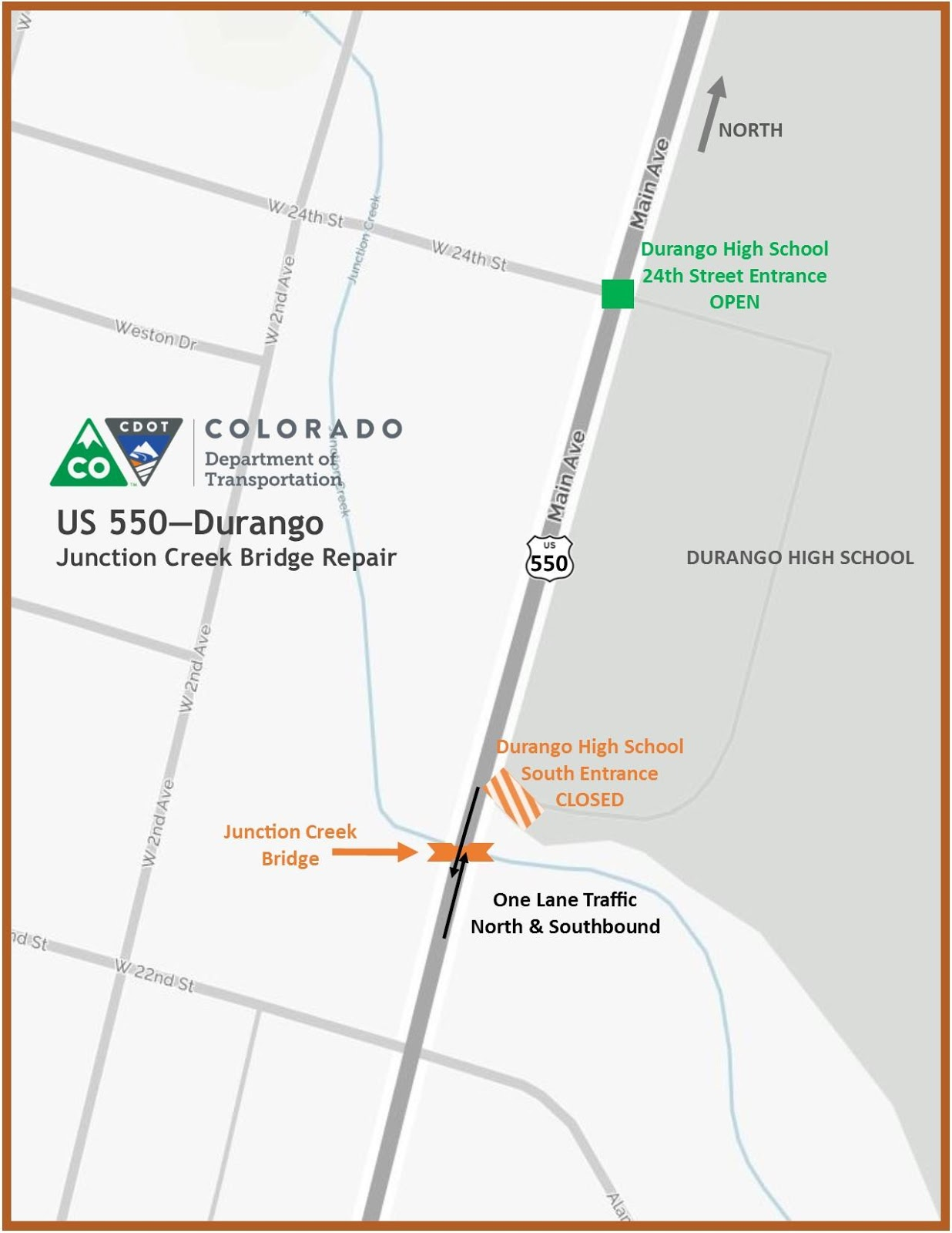 Junction Creek Bridge Repairs