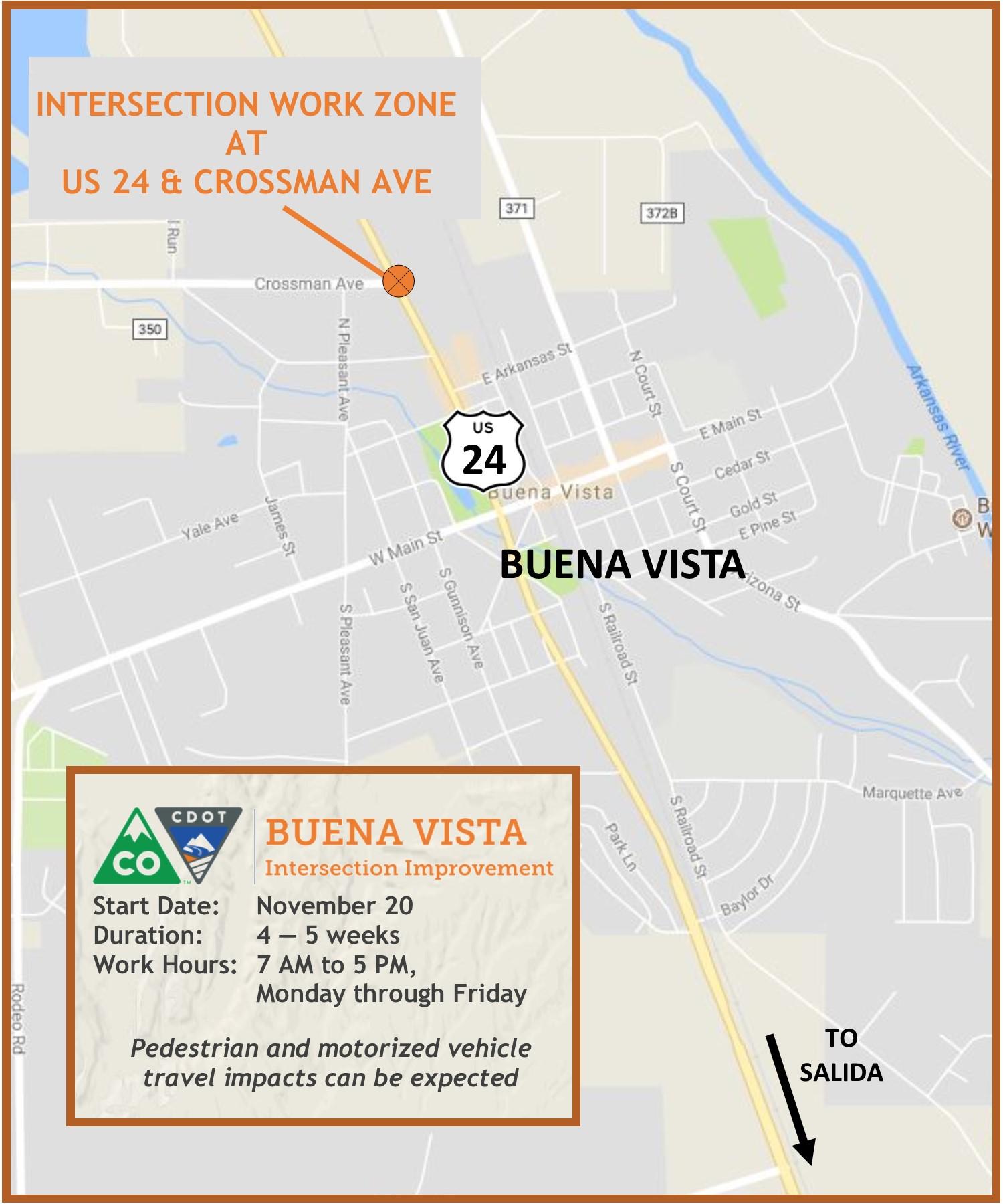 US 24 Crossman Intersection Project_Buena Vista