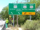 Southwest Colorado CDOT Highway Sign Project Completed