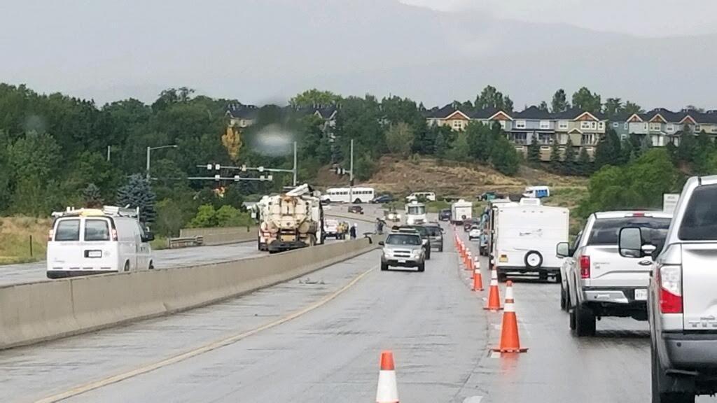 US 550 Lane Shift