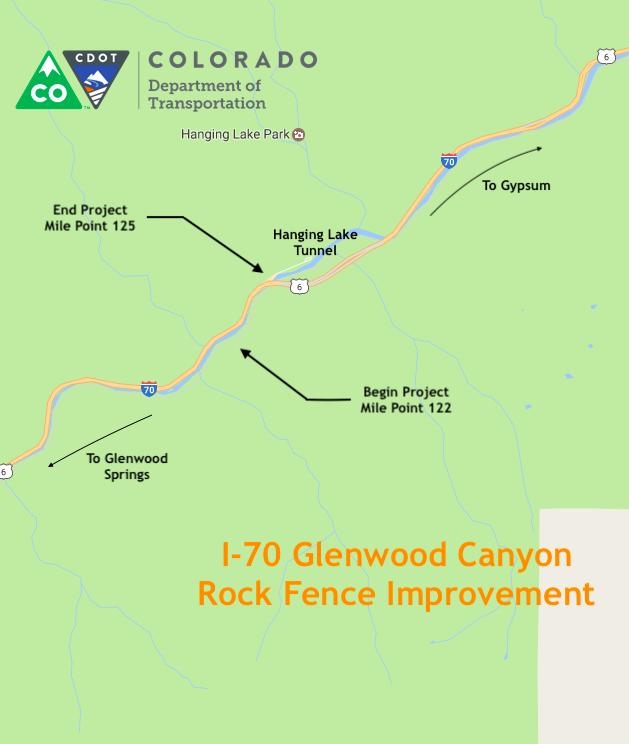 I-70 Glenwood Canyon Rock Fence Improvement
