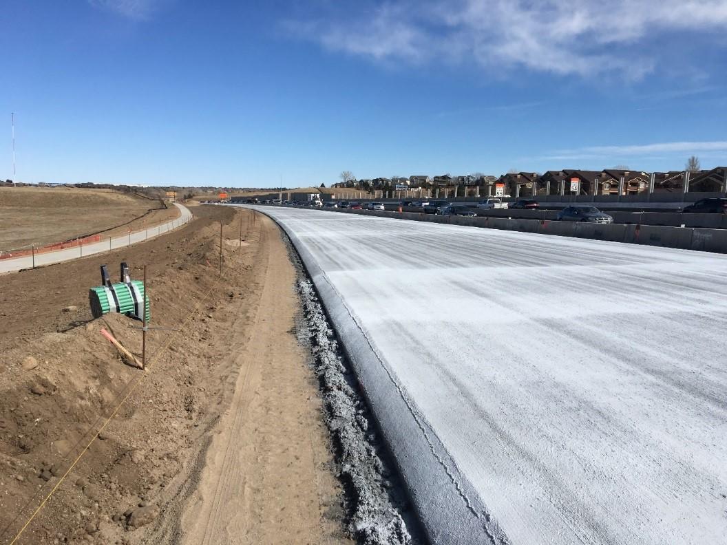 New Pavement C-70 Express Lanes