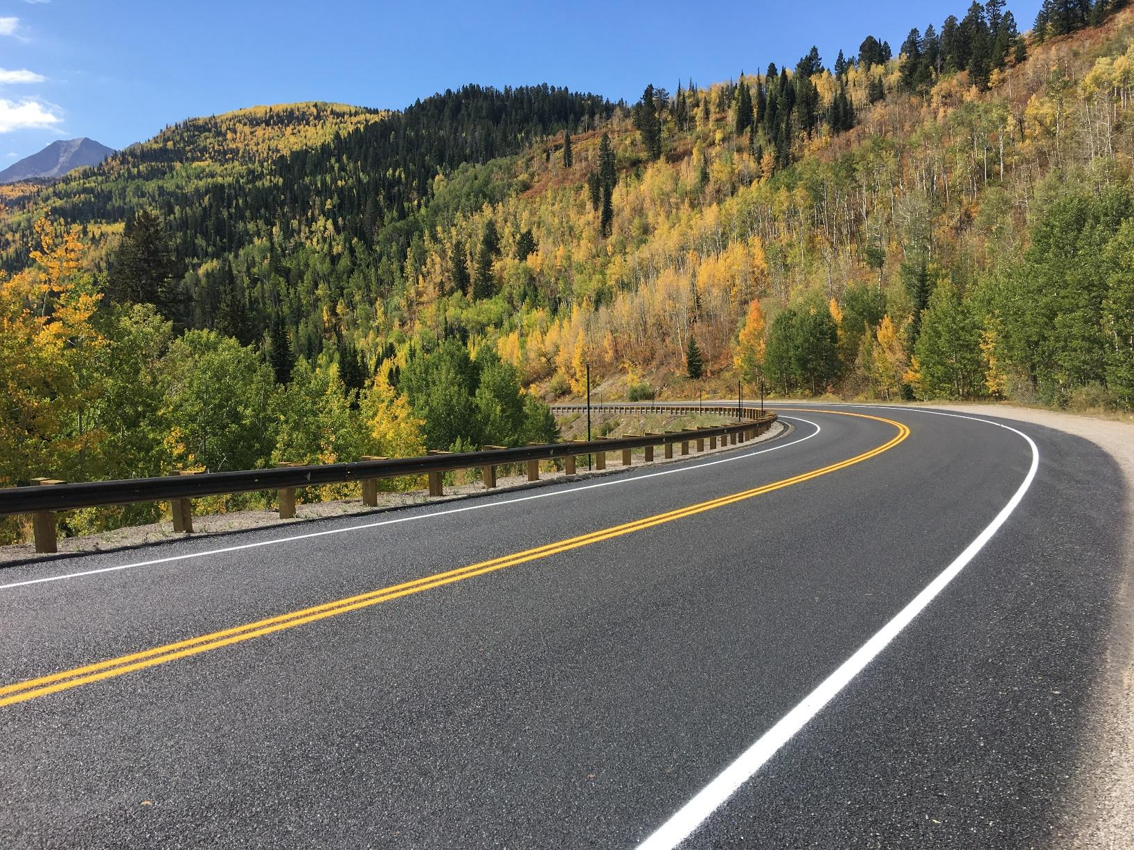 CO 133 Resurfacing from McClure Pass to Redstone
