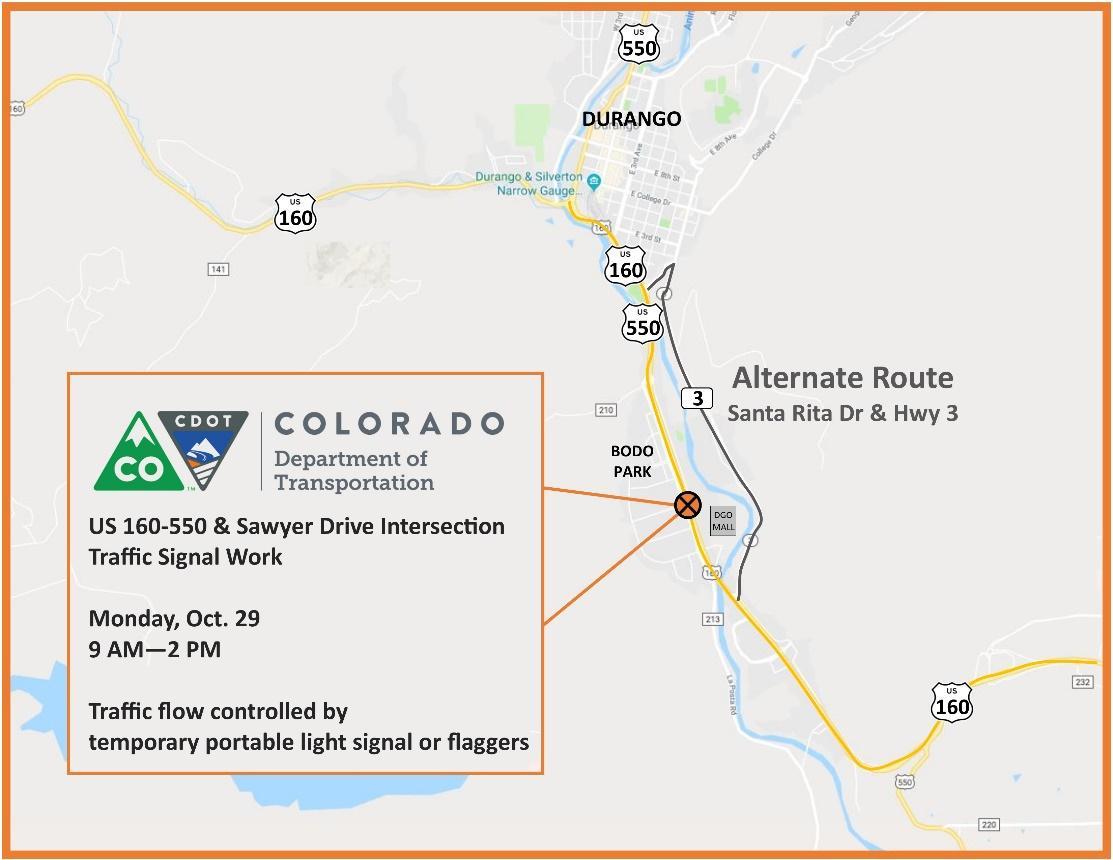 Durango Traffic Signal
