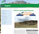 US 550 US 160 project webpage