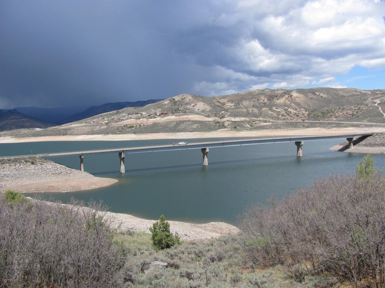 Blue Mesa Bridge on US 50