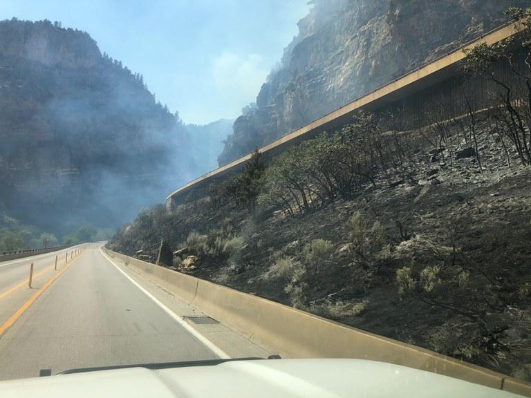 Glenwood Canyon Smoke