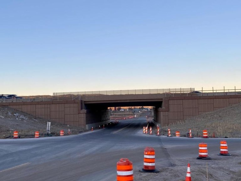 i-25 South Gap Greenland completion