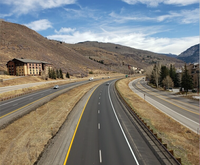 New Surface on Vail Pass