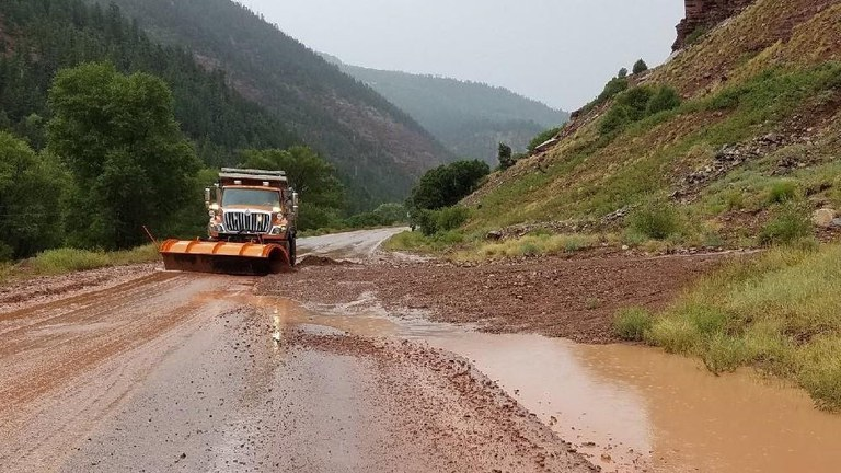 heavy rains in southwestern colorado