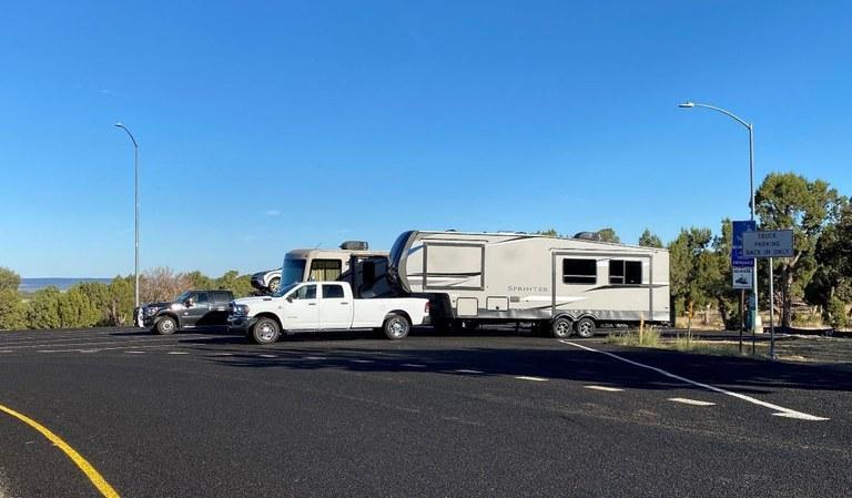 US 160 Rest Area Parking