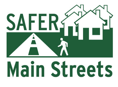 Safer Main Streets Logo