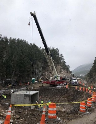 US 36 Flood Repairs between Estes Park and Lyons