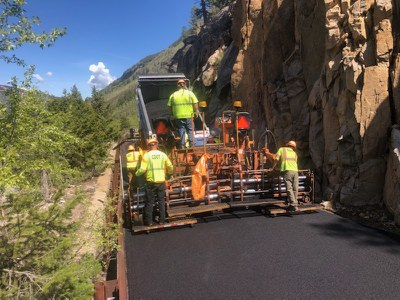 Independence Pass Paving