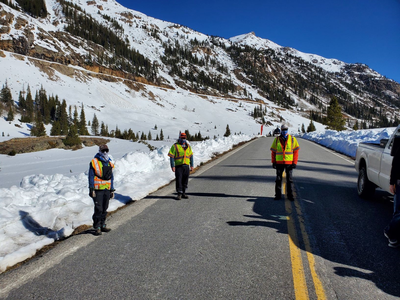 2020 Avalanche Mitigation on Independence Pass