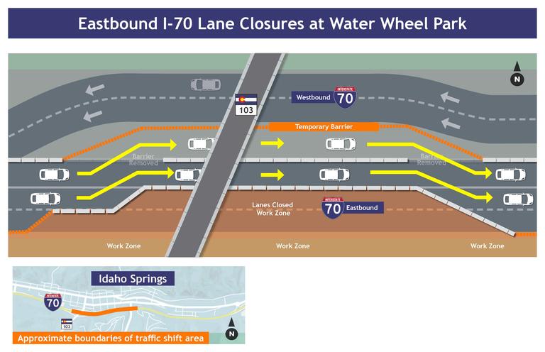 I-70 WB Express Lanes