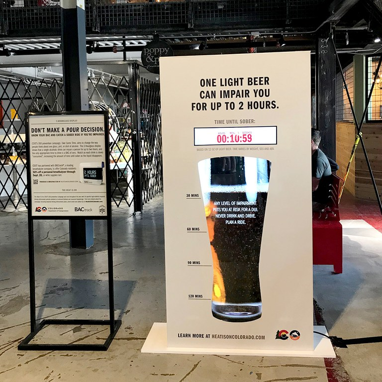 Beer sign/display