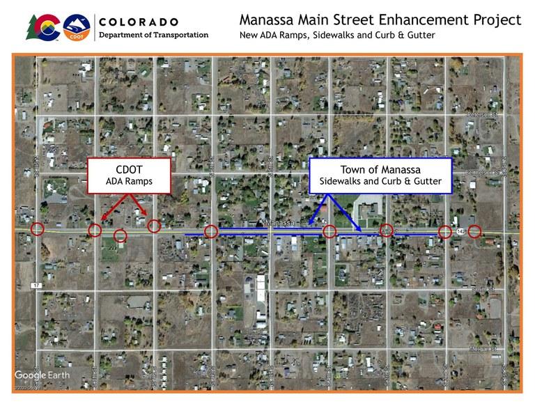 Manassa Project Map